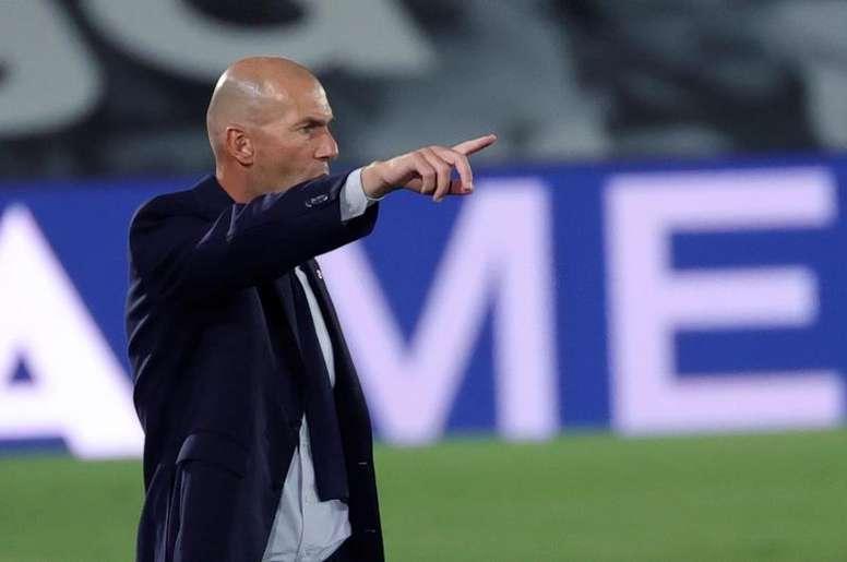 Le groupe du Real Madrid pour affronter l'Athletic. AFP