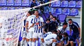 El Valladolid ha sumado tres puntos importantísimos. EFE