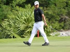 En la imagen, el golfista argentino Fabián Gómez. EFE/Alonso Cupul/Archivo