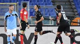 Il Milan batte la Lazio. EFE
