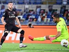 El Milan golea a una Lazio 'Immofensiva' y allana el camino a la Juve. EFE/EPA