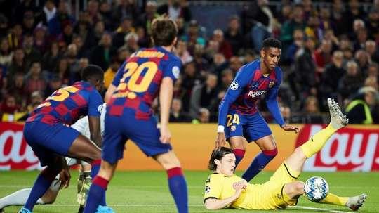 Junior Firpo forfait contre Villarreal. efe