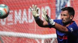 Adán, más cerca que nunca del Sporting CP. EFE