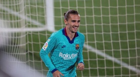 Griezmann's best day as a Barca player. EFE