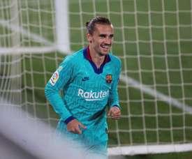 O Barça tranquiliza Griezmann. EFE