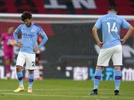 El City se pega un tiro en el pie ante el Southampton. EFE