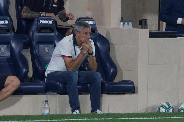 Setien announced he will take legal action against Barcelona. EFE