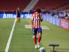 Simeone anunció su lista para el choque en el Metropolitano. EFE