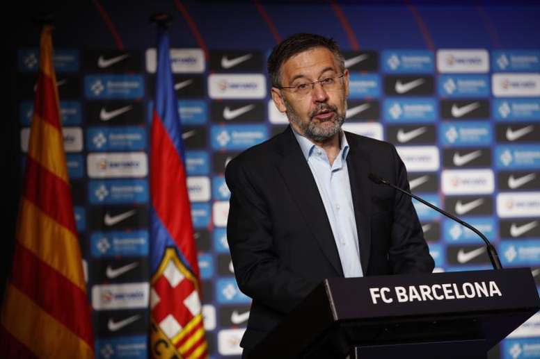 The more than 20,00 signatures have reportedly made Bartomeu consider resigning. EFE