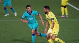 Sergi Roberto proved he's a midfielder again. EFE