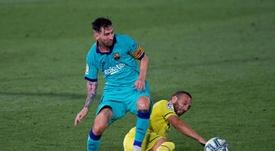 Al Villarreal le iba muy bien ante el Barça... hasta que apareció Messi. EFE