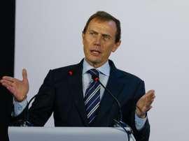 Butragueño dio su opinión sobre el mercado estival. EFE