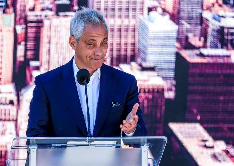 Chicago não é mais um concorrente. EFE/TANNEN MAURY