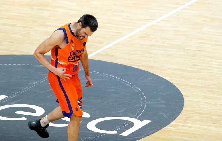 El alero de Valencia Basket, Fernando San Emeterio. EFE/Manuel Bruque/Archivo