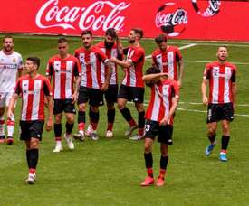 El Athletic vuelve sin Yeray, Iñigo y Yuri. EFE/Javier Zorrilla