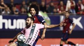 Osasuna se enfrenta al Atleti en la jornada número 8 de Liga. EFE