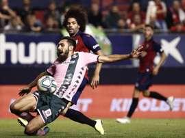 Osasuna, a acabar con sus malos números en Sevilla ante el Betis. EFE