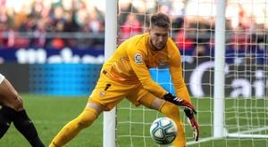 Sevilla não poderá contar com seu goleiro. EFE/Rodrigo Jiménez