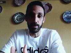 Juanfran repasó varios temas en su entrevista. EFE/Alex Mirkhan