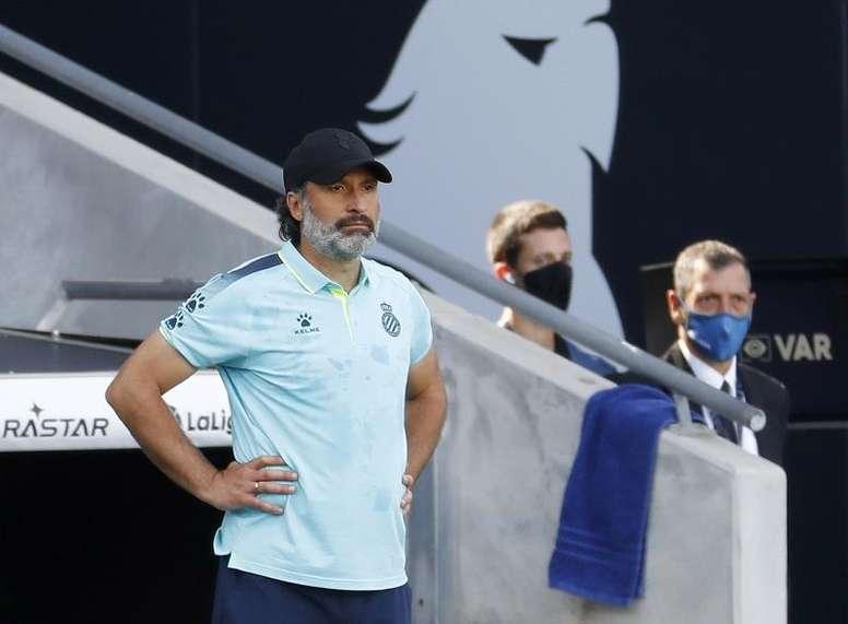 Rufete lamentó el descenso del Espanyol. EFE/Archivo