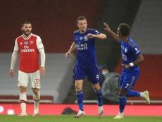 Arsenal y Leicester empataron. EFE