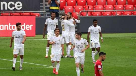 El Madrid podría proclamarse campeón y la ciudad no quiere sustos. EFE