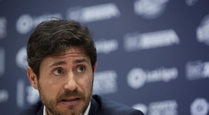 Víctor Sánchez del Amo espera poder volver algún día al Málaga. EFE