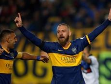 De Rossi alabó a Messi. EFE
