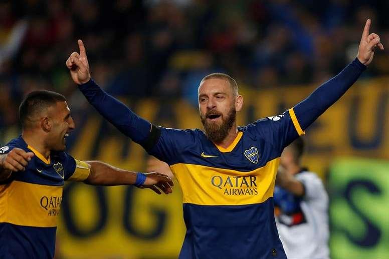 De Rossi rêve d'entraîner Boca Juniors. EFE