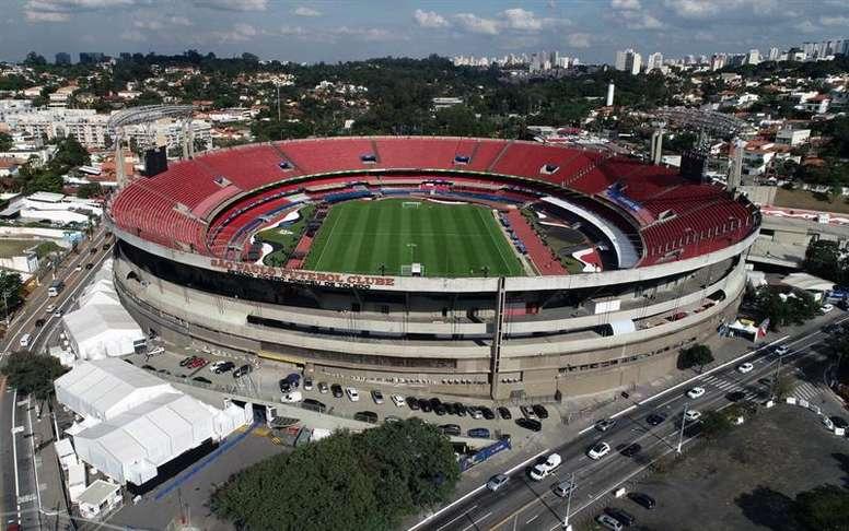 Morumbi será o palco de disputa por vaga na Copa do Brasil. EFE/Paulo Whitaker/Arquivo