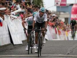 Muchos de los ganadores del Tour del Porvenir se han consagrado en el World Tour, como el actual ganador del Tour de Francia, el colombiano Egan Bernal (en la imagen), quien se impuso en la carrera de esperanzas en 2017. EFE/Leonardo Muñoz/Archivo