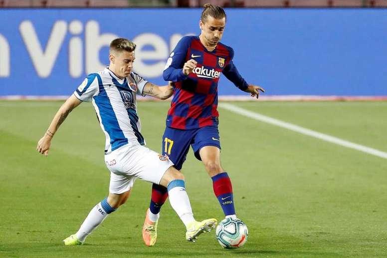 Il Barcellona supera l'Espanyol. EFE