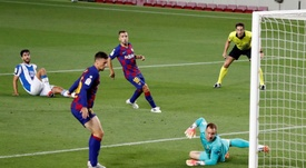 Luis Suarez sauve le Barça et condamne l'Espanyol à la D2. EFE
