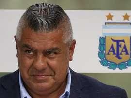 La AFA aprobó el protocolo sanitario para la vuelta del fútbol. EFE
