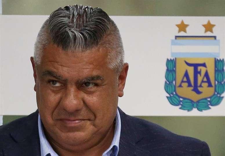 Erpen cargó contra la AFA por beneficiar a Tigre. EFE