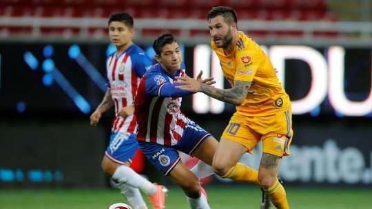 Tigres encabeza el Grupo A con cuatro puntos. EFE