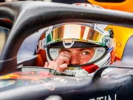 El piloto húngaro de Fórmula Uno Max Verstappen. EFE/ Srdjan Suki/Archivo