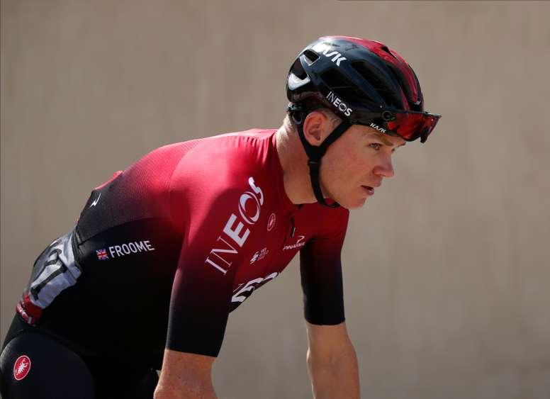 El ciclista británico, Chris Froome. EFE/EPA/ALI HAIDER/Archivo