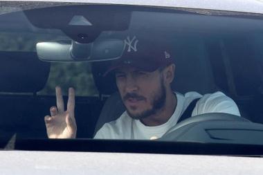Hazard arrived at Real Madrid for a base price of 100 million euros. EFE