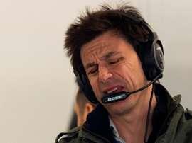 El director del equipo Mercedes, Toto Wolff. EFE/Enric Fontcuberta./Archivo