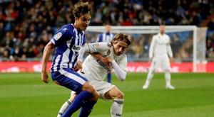 Daqui a pouco tem Real Madrid e Alavés. EFE/Juanjo Martín/Archivo