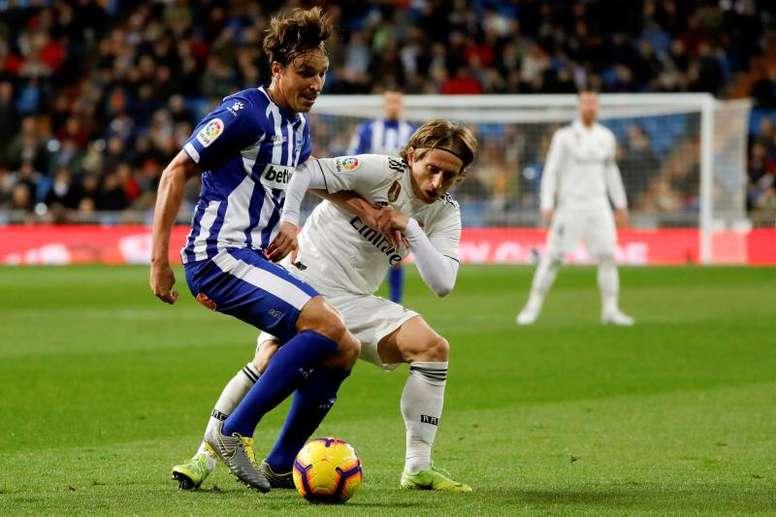 Escalações Real Madrid e Alavés. EFE