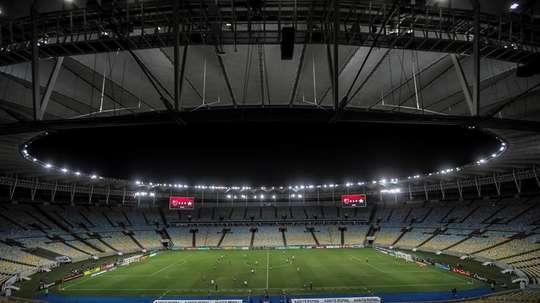 Río de Janeiro recula con la afluencia de público un día antes del inicio. EFE