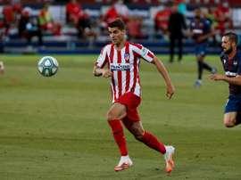 El Cholo tiene que elegir entre Diego Costa o Morata. EFE