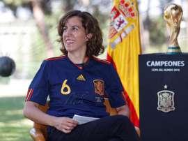 Irene Lozano recordó cómo fue el Mundial 10 años después. EFE