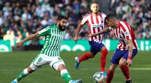 El Atlético, a por la Champions. EFE