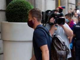 Arthur est à Barcelone. EFE