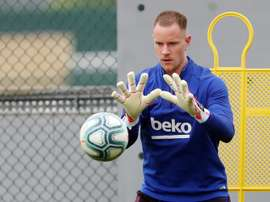 Ter stegen makes his return. EFE