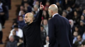 Guardiola Pep Guardiola was asked about the draw for the Champions League quarter-finals. EFE