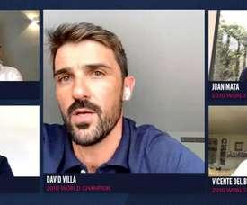 No hay nuevos Iniesta, Xavi o Casillas posibles para Villa. EFE